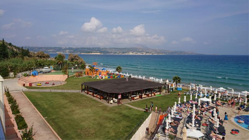 kiani beach resort view of beach