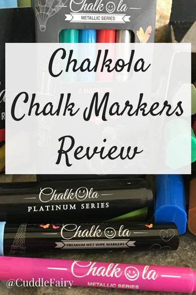 Chalkola Chalk Markers Review Pinterest Graphic