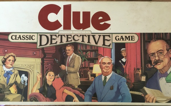 old cluedo game