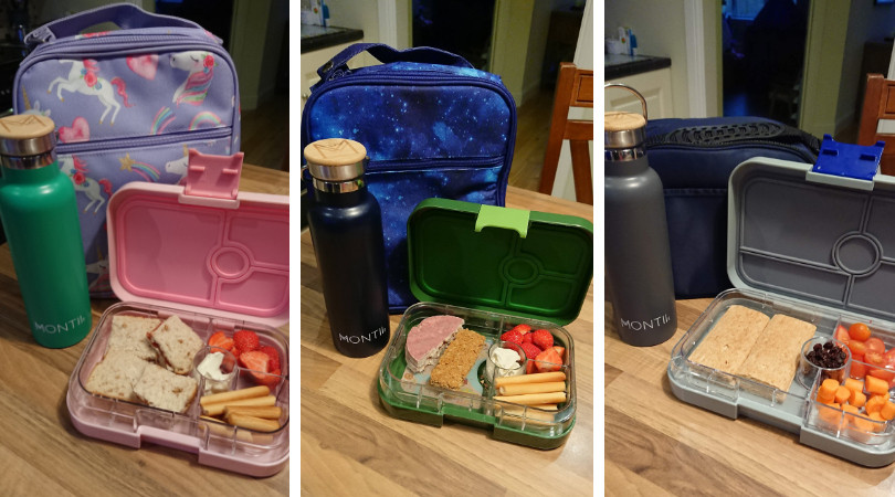 montii lunch bags, bottles, yumboxes
