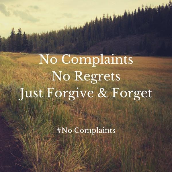 No Complaints challenge 2
