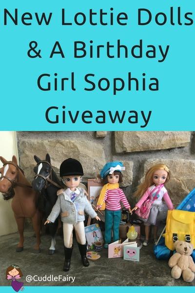 New Lottie Dolls & Accessories - Featuring Birthday Girl Sophia