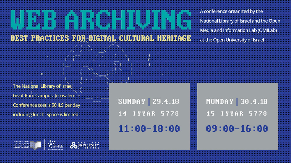 Web Archiving Conference Registration