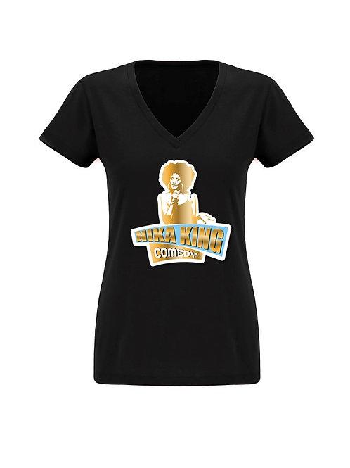 """Women's """"Nika King Logo"""" Tee"""