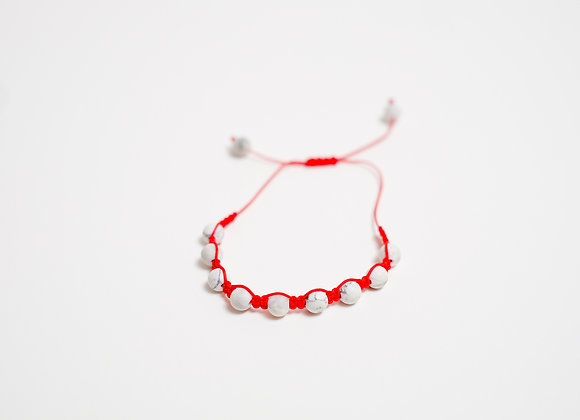 Stone Bracelet - Red