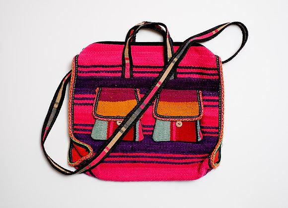 Peruvian Bag - Large Zipper Tote