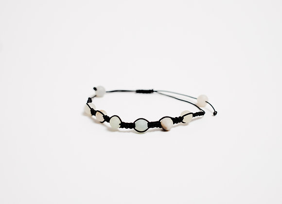 Stone Bracelet - Opaque White