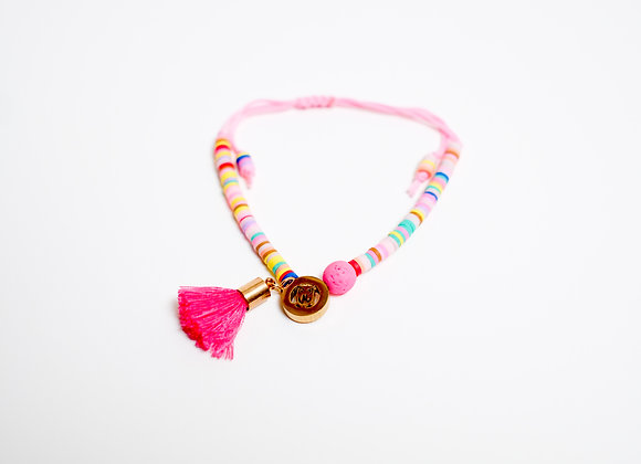 Multicolored Tassel Bracelet