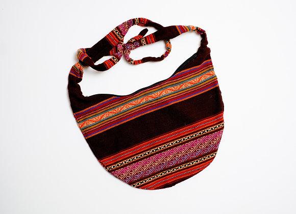 Peruvian Bag - Tie Crossbody Sling
