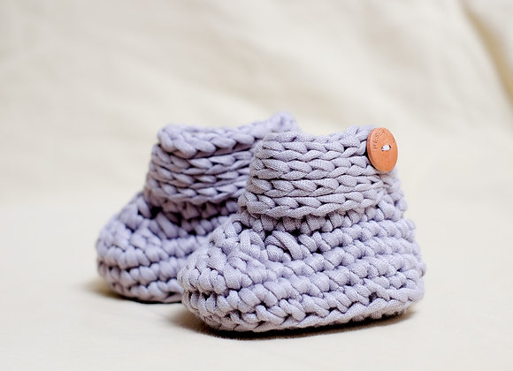 Crocheted Baby Booties (3 - 6 Months)