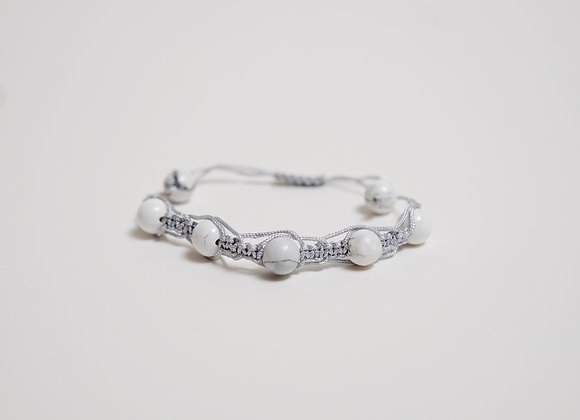 Stone Bracelet - Silver