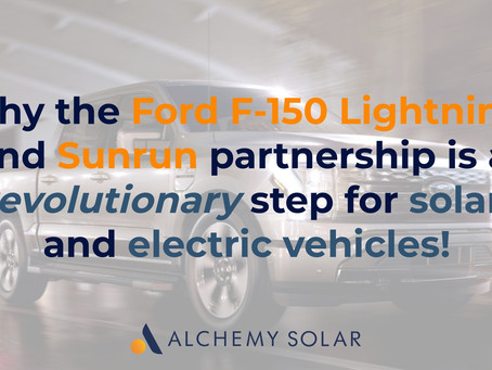 Why the Ford F-150 Lightning and Sunrun is a revolution for solar and electric vehicles!