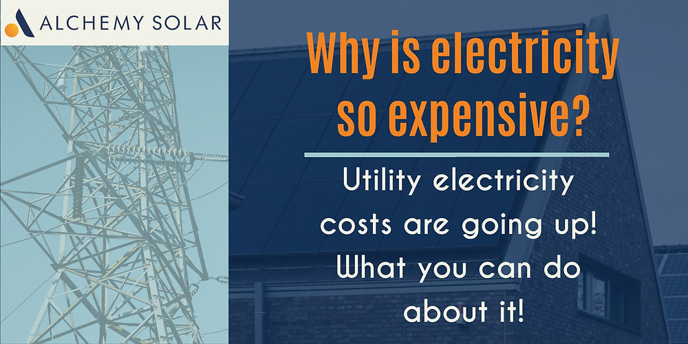Utility rates are going up? How solar can help you take back control of electricity costs.