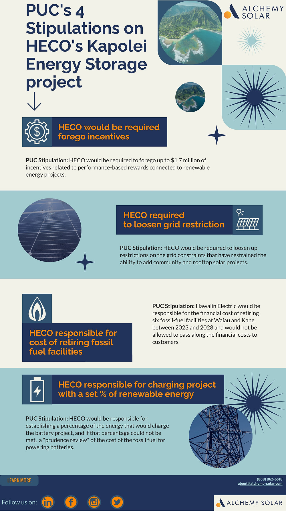 What the PUC requested HECO do to complete the Kapolei Energy Storage Project