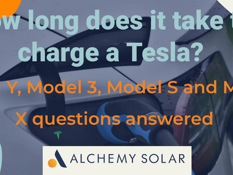 How long does it take to charge a Tesla: Model Y, Model 3, Model S and Model X questions answered