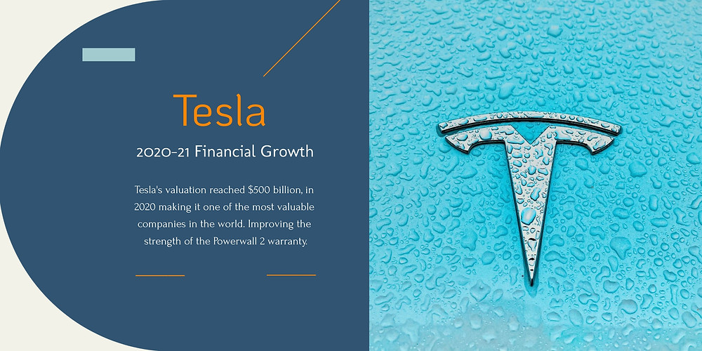 Tesla Financial Standing and Growth