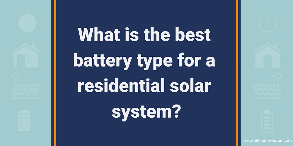Learn about products like the Tesla Powerwall 2 to identify what is the right home solar battery for you.