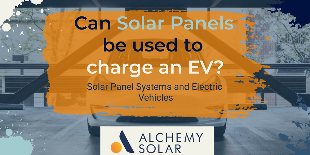 How to use a home solar panel system to charge an EV