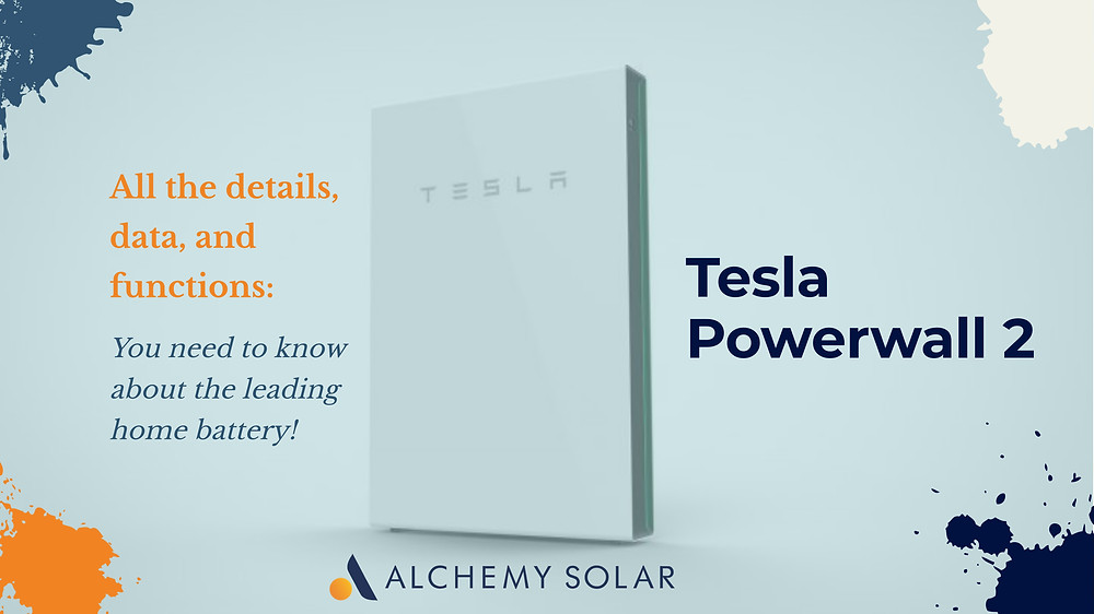 Learn about the Tesla Powerwall 2 the leading home solar battery