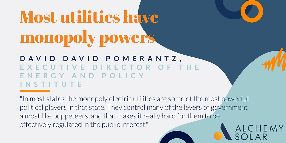 How utilities use monopoly powers to drive up electricity rates