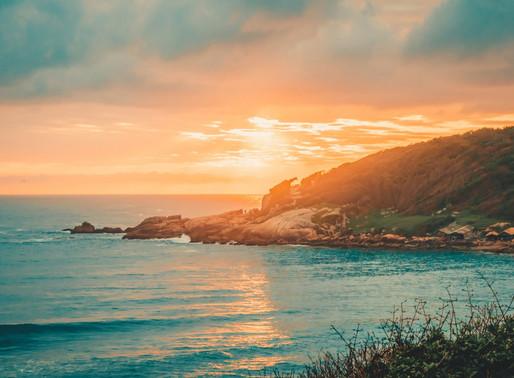 Passar o Natal na Praia do Rosa em clima de festa com os ares do mar. Sim, mereço este presente!