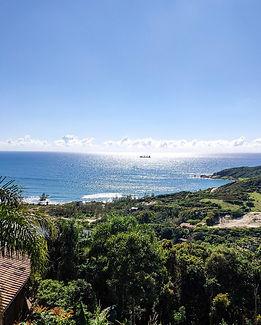 Vista da Praia do Rosa Costão Sul
