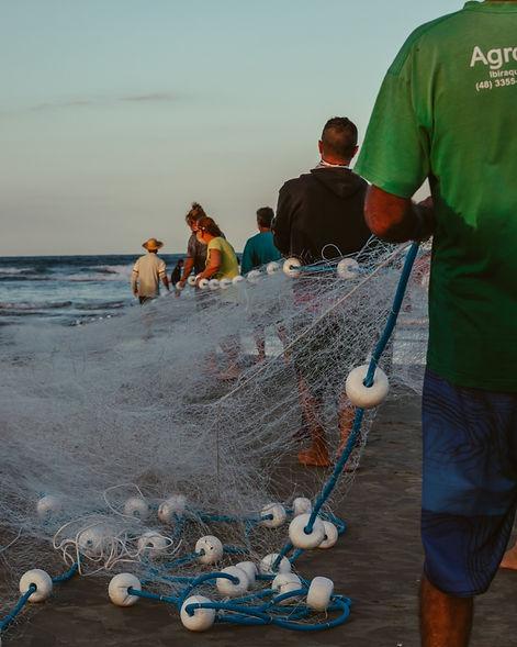 Pescadores Praia do Rosa