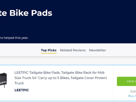 LEETPIC tailgate bike pad - classic version named the best on Bestreviews.Guide