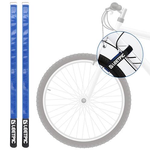 "2 Pack Bike Rack Strap 29.5"" x1.2""   Bike Storage Strap for Bicycle Wheel"