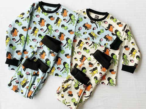 2 x1 en Pijama Mounstritos