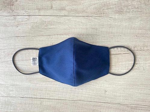 Pack02: Mascarilla Azul Color Entero + negro