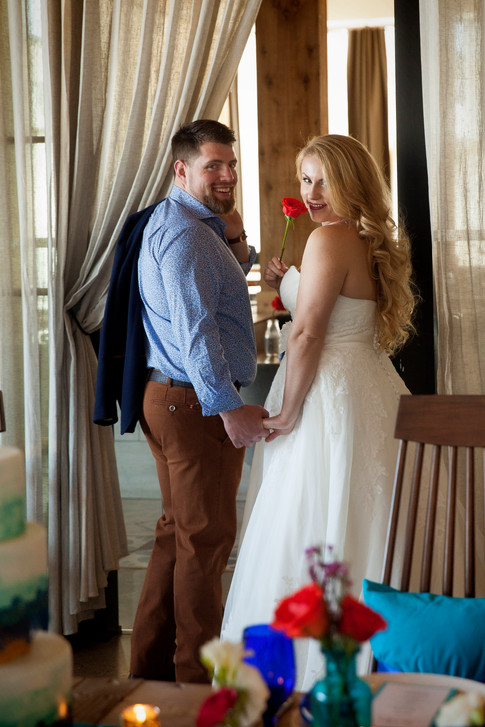 Wedding Reception - Bride & Groom
