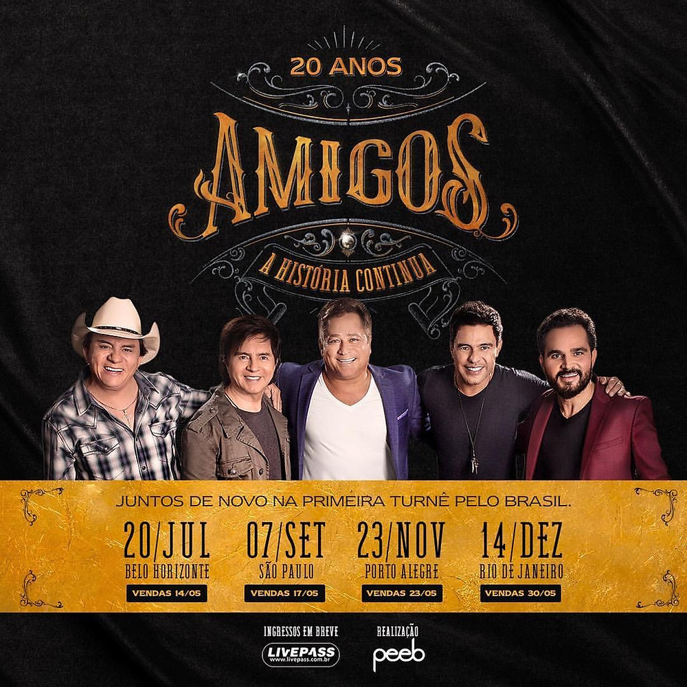 AMIGOS DE VOLTA