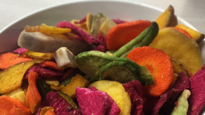 Kleur in je bord met groentenchips