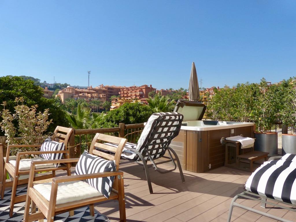 La Reserva de Marbella Terrace Views Man