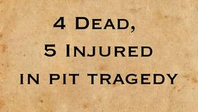 Tragedy at Stravenhouse Pit: 1876