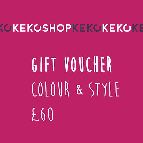 Keko Colour & Style Gift Voucher
