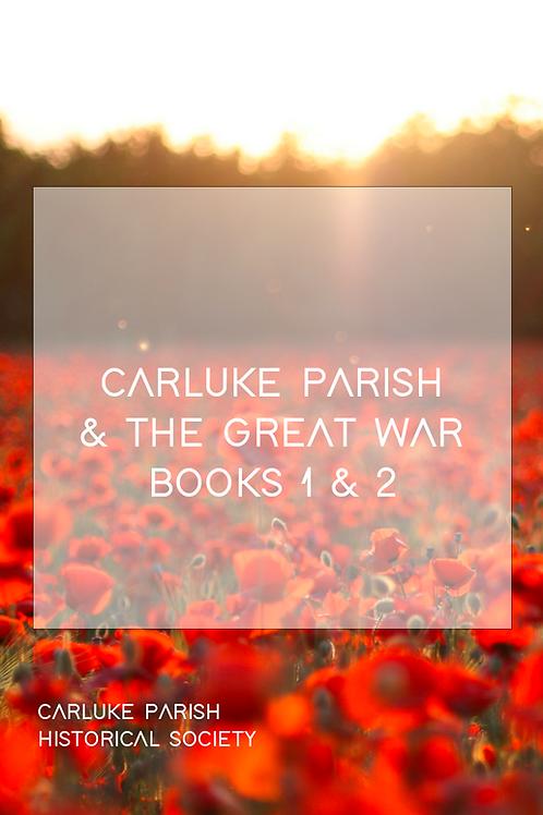Carluke Parish and The Great War Books 1 & 2 Bundle