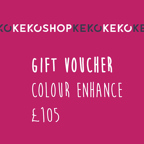 Keko Colour Enhance Gift Voucher