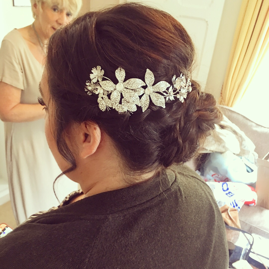 Olivia's Bridal Hairstyle by Alice