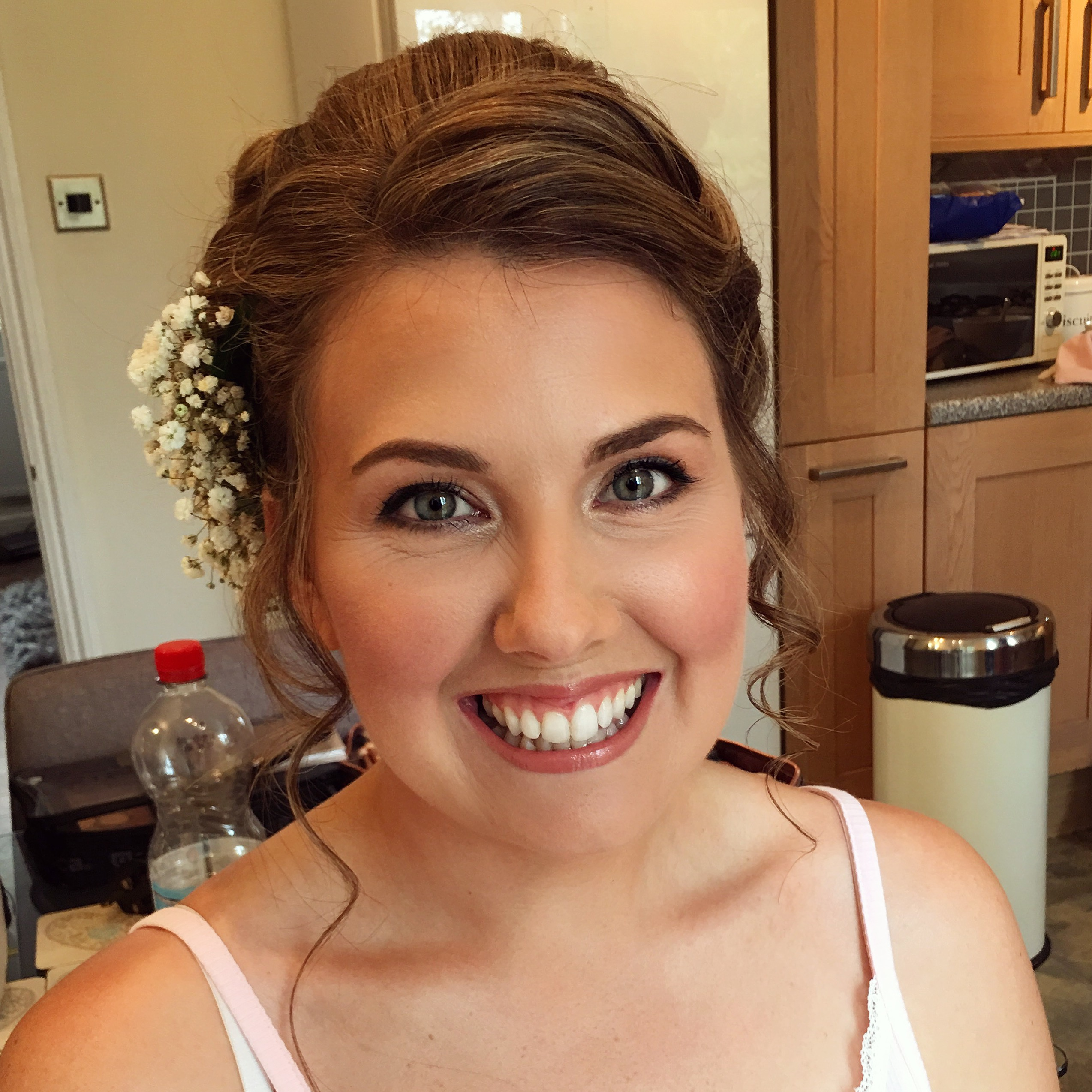 Bride's Makeup by Alice Taper