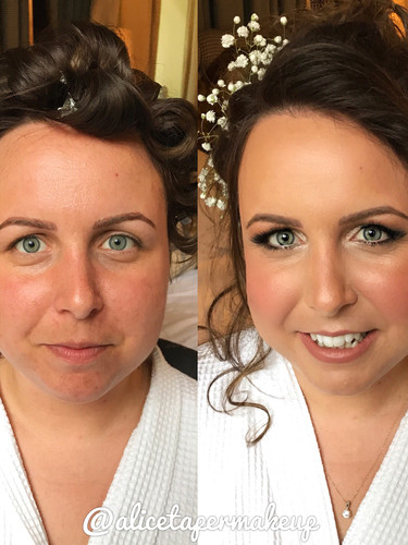Bridal Hair and Makeup by Alice Taper
