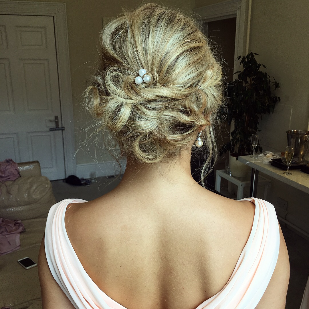Bridesmaid Hair by Alice Taper
