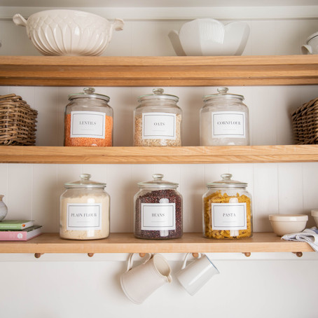 How To Style Open Shelving | Home Organisation Tips