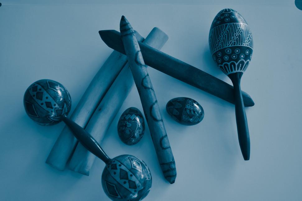 Rattles + Clap Sticks
