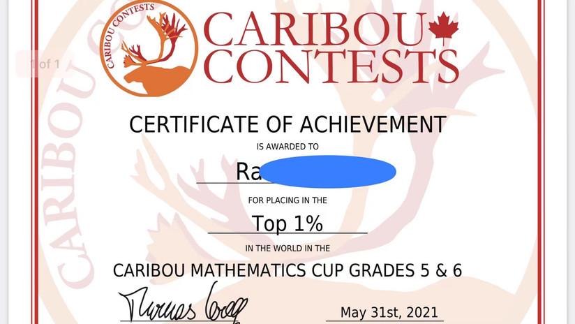 Caribou Top 1%