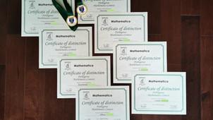 Congratulations to Grade 6 Students: Mathematica Competition!