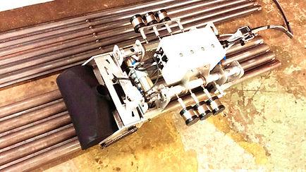 Boiler Tube Wall Climbing Robot