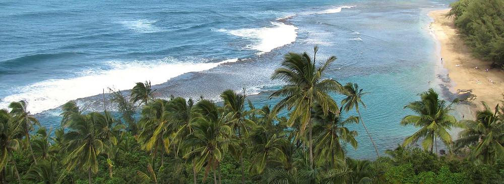 Kēʽē Beach, Hāʽena State Park  Photo by Jim Balyszak