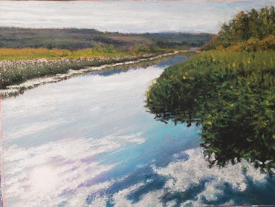 Wanetta Lake Channel in Summer